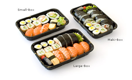 Sushi- Lunchboxen