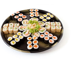 Sushi-Platte »Yokohama«